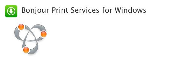 Bonjour Print Services for Windows